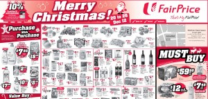 Fairprice chrismtas weekly supermarket promotions