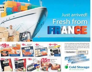 cold storage france supermarket promotions