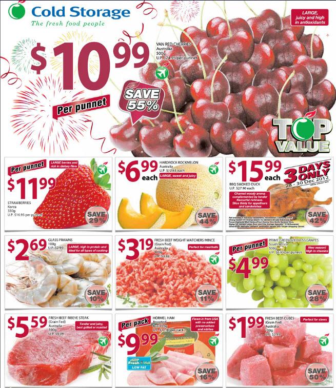 Cold Storage Supermarket Promotions Week 54