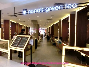 Nana green tea reviews and menu