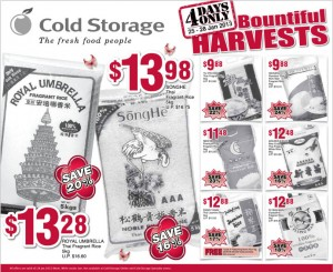 Cold storage 4 days only supermarket promotions