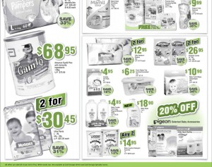 Cold storage baby supermarket promotions