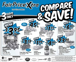 Fairprice Xtra supermarket promotions