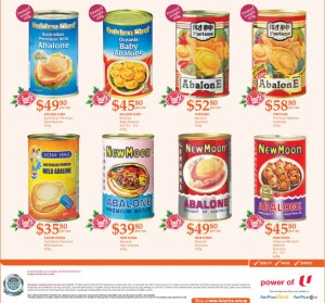 Fairprice abalone special supermarket promotions