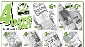 cold storage 4 days supermarket promotions