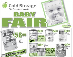 cold storage baby fair supermarket promotions