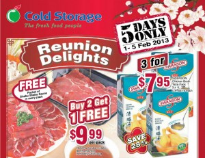 cold storage steamboat supermarket promotions