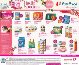 fairprice CNY supermarket promotions