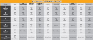 giant supermarket cny opening hours