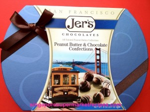 JER'S SAN FRANCISCO PEANUT BUTTER & CHOCOLATE CONFECTIONS