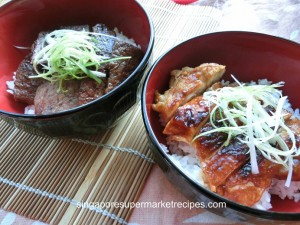 BBQ Japanese Beef Rice Bowl Recipes