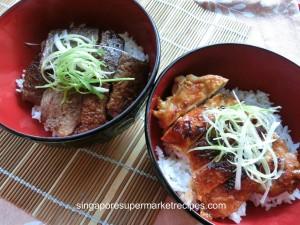 BBQ Japanese Beef Rice Bowl Recipes