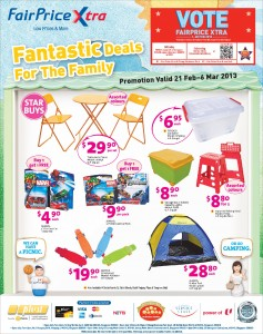 Fairprice Xtra promotions