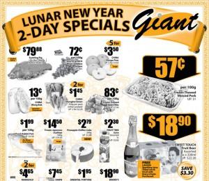 Giant 2 days CNY offers