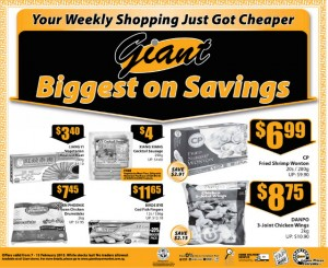 Giant biggest on savings supermarket promotions