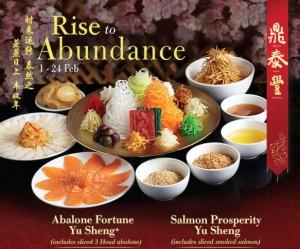 din tai fung yusheng promotions