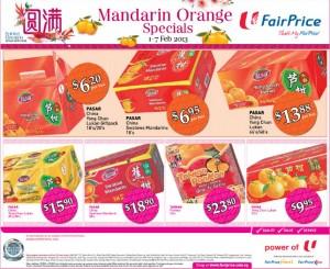 fairprice mandarin orange supermarket promotions