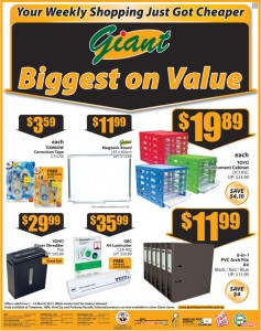 giant stationery supermarket promotions