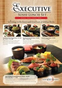 ichiban boshi executive lunch promotions