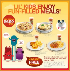 pizza hut kids meal promotions