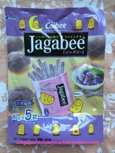 Jagabee Purple Potato Sticks