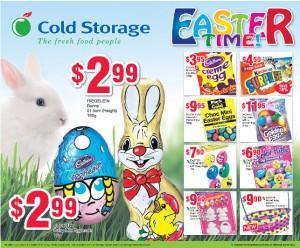 Cold storage easter supermarket promotions