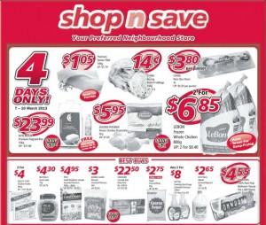 Shop n Save weekly supermarket promotions