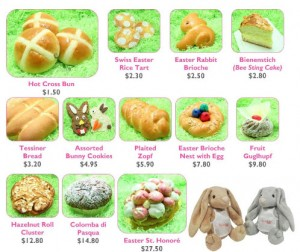 Swissbake easter goodies promotions