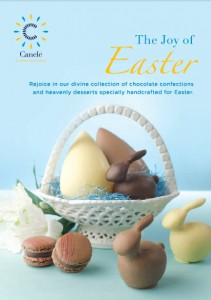 canele Easter promotions 2013