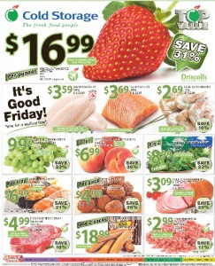 cold storage fresh fruits supermarket promotions