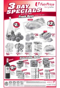 fairprice 3 day special