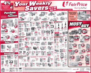 fairprice weekly savers