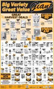 giant great harvest deal supermarket promotions