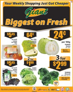 giant supermarket fruits promotions