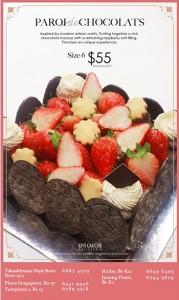 rive gauche cake promotion