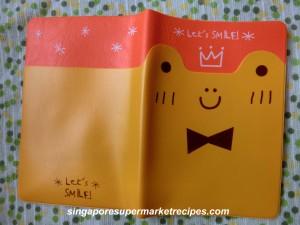 Daiso Kids Passport Cover