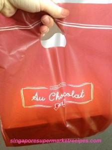 Au Chocolat at MBS