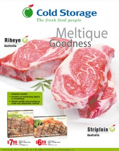 Cold Storage beef supermarket promotions