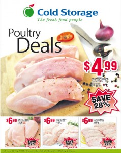 Cold Storage poultry supermarket promotions