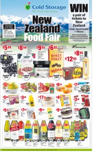 Cold storage NZ fair supermarket promotions