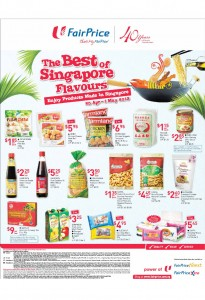 Fairprice best of singapore flavours supermarket promotions