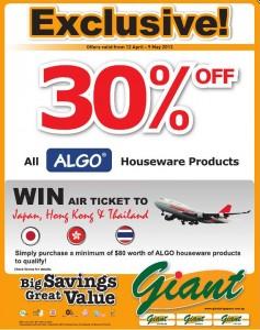 Giant Algo supermarket promotions
