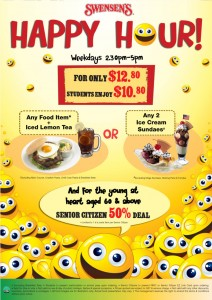 swensens happy hour promotions