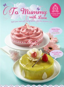 The icing room mother's day cake promotions