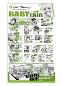 cold storage baby products supermarket promotions
