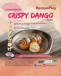 ramen play crispy dango promotions