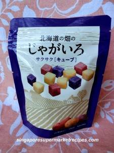 Hokkaido Potato Cubes