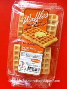 cinnamon waffle