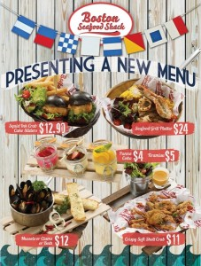 Boston Seafood Shack dining promotions