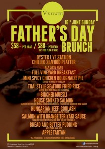vineyard father's day brunch promotions 2013
